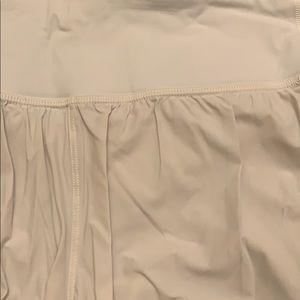 lululemon athletica Shorts - Lululemon white shorts
